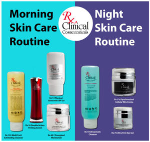 Morning & Night Skin Care Routines