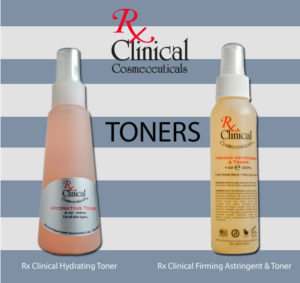Rx Clinical Cosmeceuticals Toners