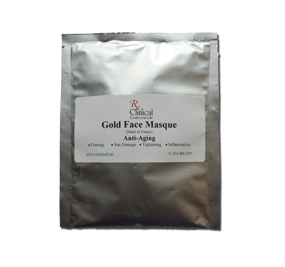 Rx 21 Gold Face Masque